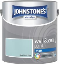 Johnstones New Duck Egg Coloured Emulsion